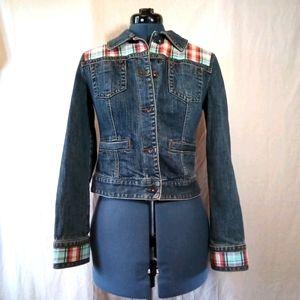 Upcycled Ann Taylor Loft Denim Jacket